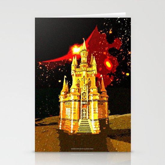 GOLDEN CASTLE-005 Stationery Cards