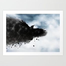 Reclaiming Nevermore Art Print