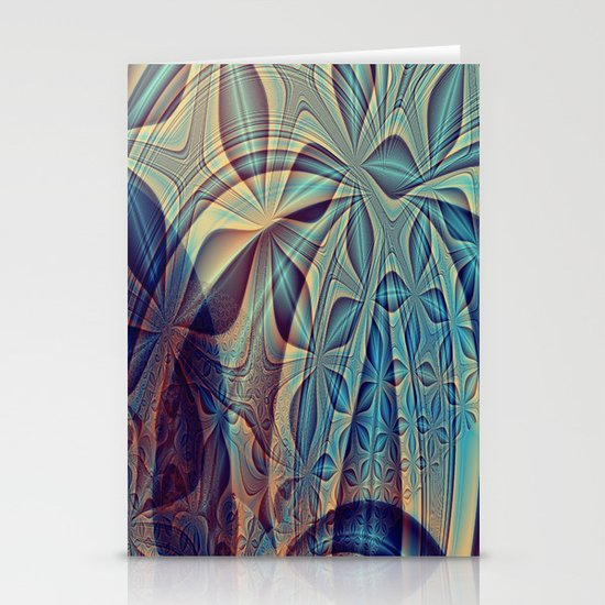 Bluesy Stationery Cards