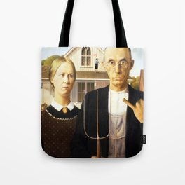 american fucking gothic! Tote Bag
