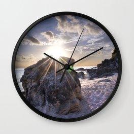 Church Bay Glow Wall Clock