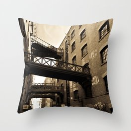 Butlers wharf London Throw Pillow