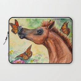Arabian Foal - Garden Adventure Laptop Sleeve