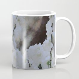 Small white blossoms Coffee Mug