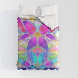 Floral Fractal Art G307 Comforters