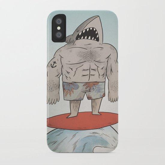 Surf Shark iPhone Case