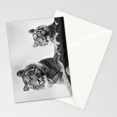 Tigers two Stationery Cards