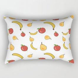 Vegetables colorful pattern Rectangular Pillow