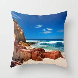 Seclusion Bay Throw Pillow