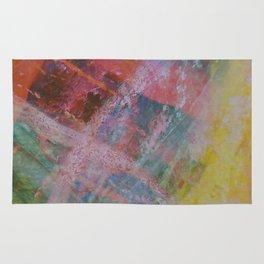 Vetas de colores // Colored streaks Rug