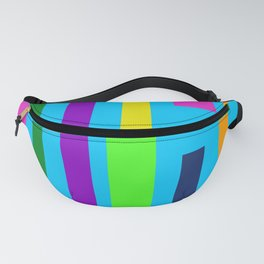 Colored Lines Fanny Pack