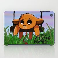 simba iPad Cases featuring Chibi Simba by LK17