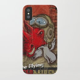 Flying Red Raiders iPhone Case