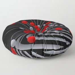Moebius transformations Floor Pillow