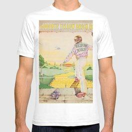 John - Goodbye Yellow Brick Road by Elton T-shirt