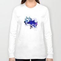 dolphin Long Sleeve T-shirts featuring Dolphin by delfindaffy