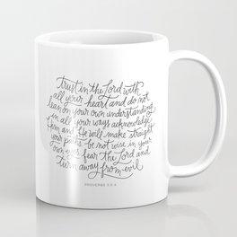 Straight Paths Coffee Mug