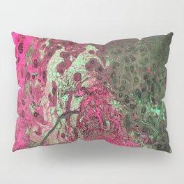 Pink & Green Flow Pillow Sham