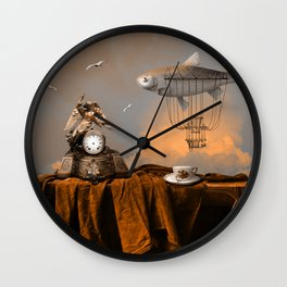 Pleasant afternoon Wall Clock