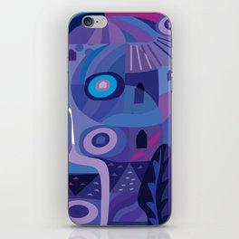 Blue Pozole iPhone Skin