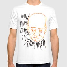 Horny Marxist Singles in your Area!!! White Mens Fitted Tee MEDIUM