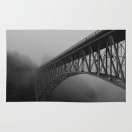 Bridge, Deception Pass Fog Rug