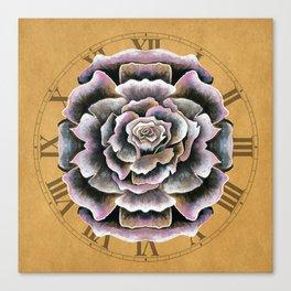 Sweet Pink Rose Canvas Print