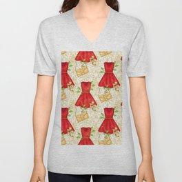 Chistmas fashion Unisex V-Neck