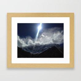 Salkantay Trail Peru Framed Art Print
