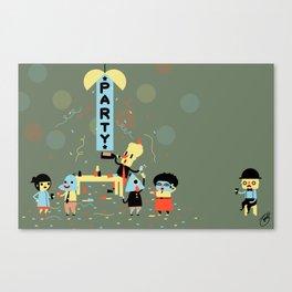The Party (Alt) Canvas Print