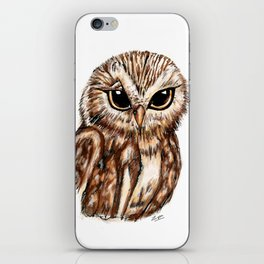 Wise 'Ole Owl iPhone Skin