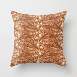 Seamus and Angus #thesnuggleisreal  Throw Pillow