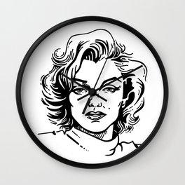 pretty Marilyn Wall Clock
