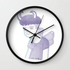 Pastel Punk Pixie Boy Wall Clock