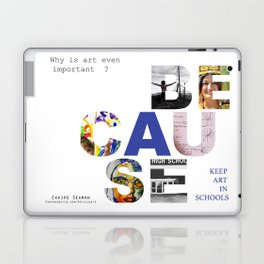 Because by Claire Seaman  Laptop & iPad Skin