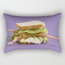 Ultraviolet Sandwich Doll Rectangular Pillow