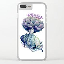 Dame Artie Clear iPhone Case
