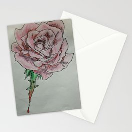 every rose has thorns 2 Stationery Cards