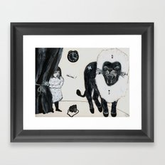 4 o'clock Framed Art Print