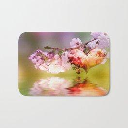 Frühlingsherz Bath Mat