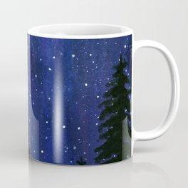 Twinkle, Twinkle, Stars Night Sky Painting Coffee Mug