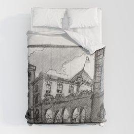 Portland Customs Building Comforters
