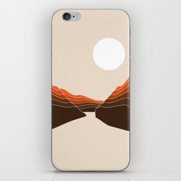 Desert Dusk Ravine iPhone Skin