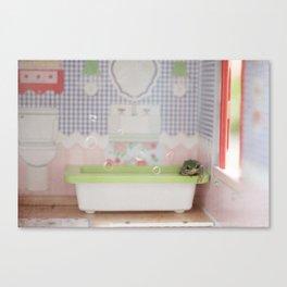 The Bubble Bath Canvas Print