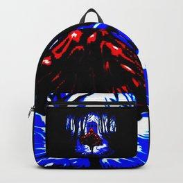Shadow Light Of Tardis Backpack