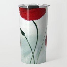 Pretty Poppy Travel Mug