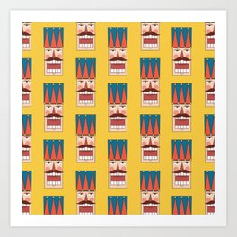 Nutcracker Army 01 (Patterns Please) Art Print
