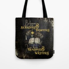 Reading & Writing Tote Bag