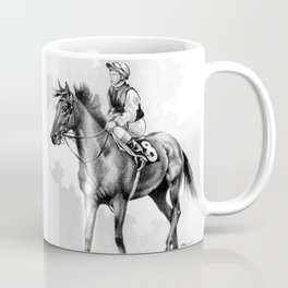 About To Play Up - Racehorse Coffee Mug