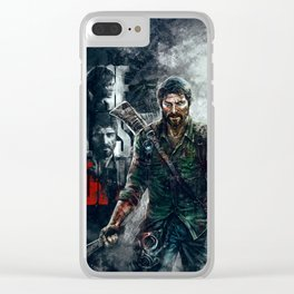 Joel - The Last of Us Clear iPhone Case